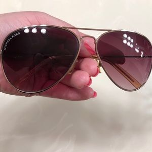 Rose Gold Michael Kors Sunglasses
